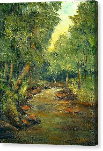 A Quiet Place Canvas Print