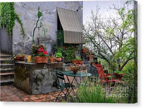 Mount Etna Canvas Print - A Quiet Place In Santa Venerina by RicardMN Photography