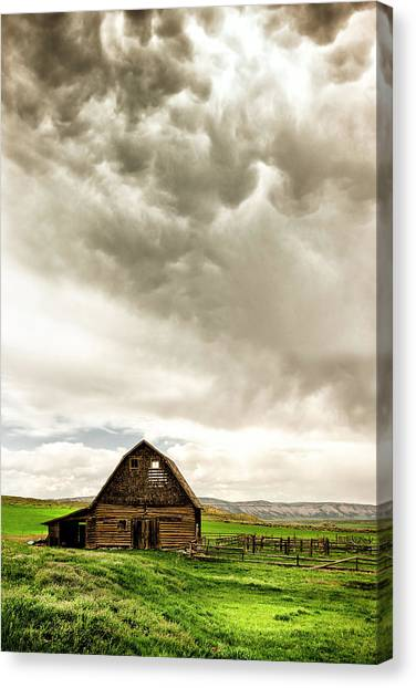 A Quiet Storm Canvas Print by Humboldt Street