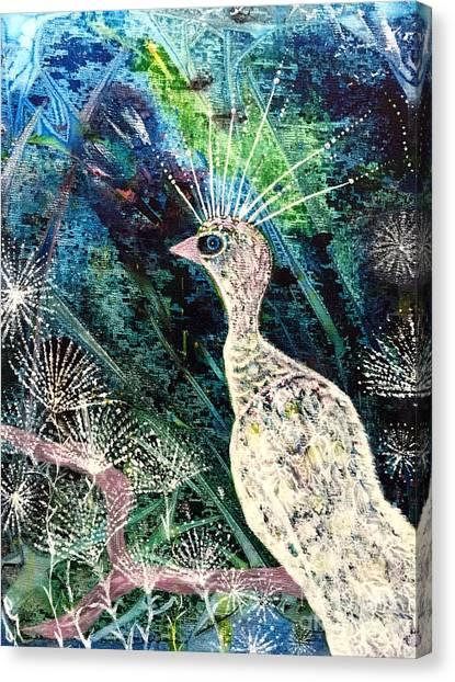 A Rare Bird Canvas Print