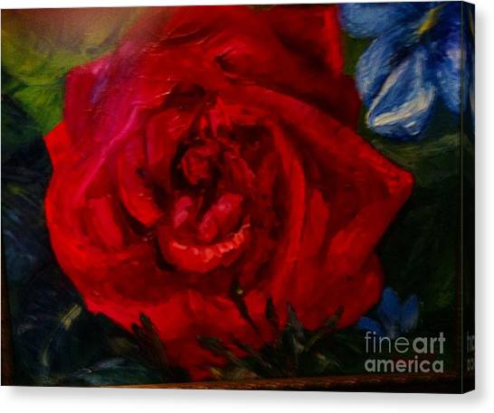 A  Rose Is Canvas Print