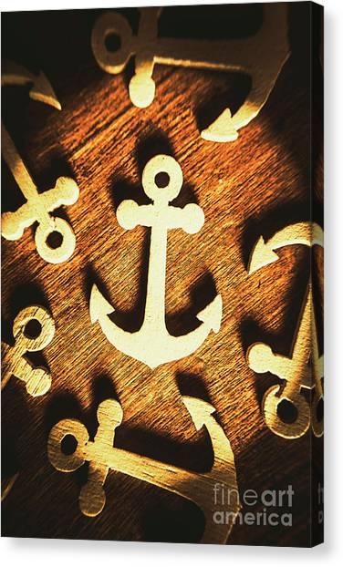 Marine Life Canvas Print - A Sailors Badge by Jorgo Photography - Wall Art Gallery