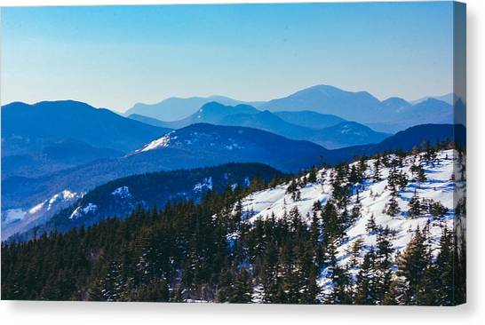 A Sea Of Mountains, South Moat Mountain Summit Canvas Print
