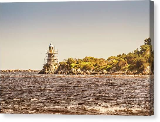 Travel Destinations Canvas Print - A Seashore Construction by Jorgo Photography - Wall Art Gallery