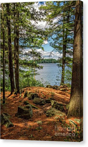 A Secluded Spot Canvas Print