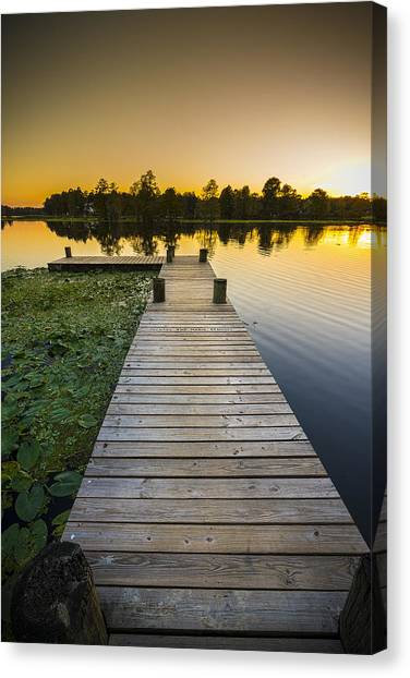 Inland Canvas Print - A Short Walk by Marvin Spates