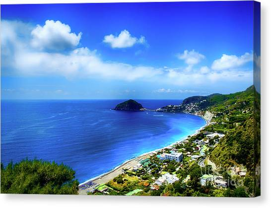 A Side Of Ischia Canvas Print by Alessandro Giorgi Art Photography