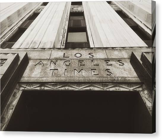 A Sign Of The Times - Vintage Canvas Print