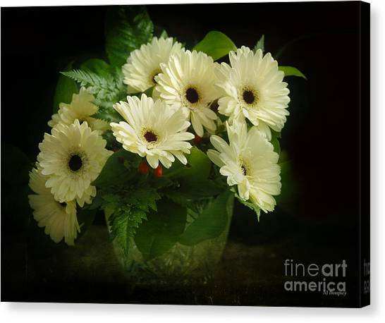 A Simple Bouquet Canvas Print