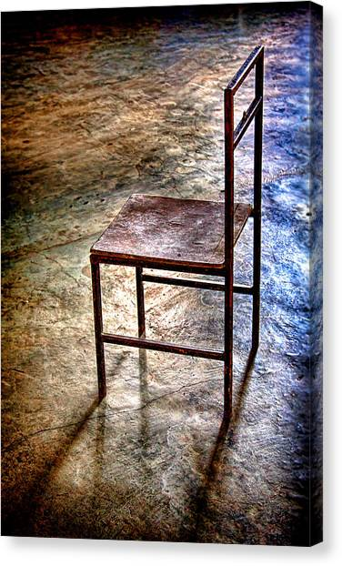 A Simple Chair Canvas Print
