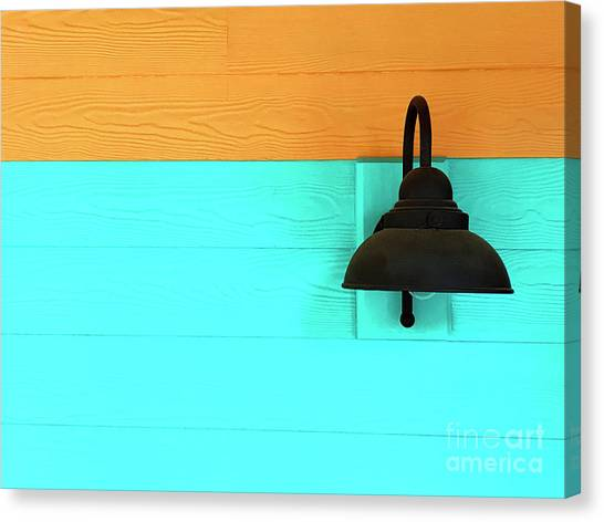 Canvas Print featuring the photograph A Solitary Light by Rick Locke