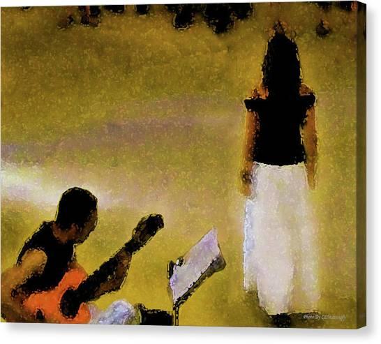 A Song Canvas Print