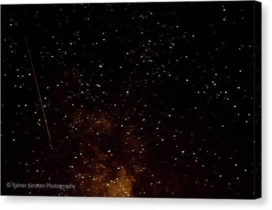 A Star Is Fallen Canvas Print