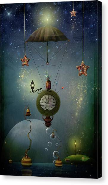 A Stitch In Time Saves Nine Canvas Print