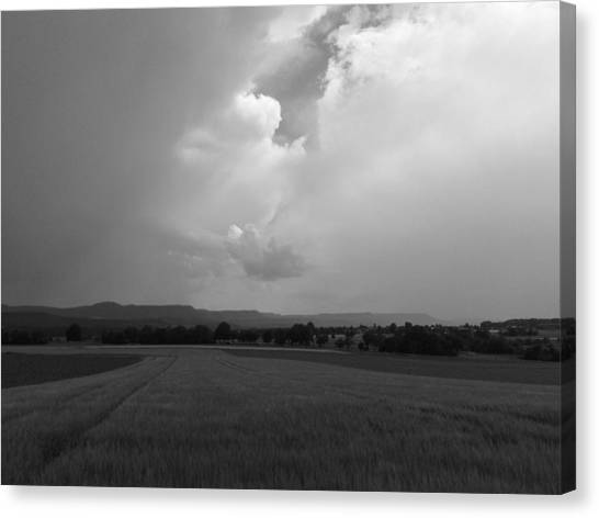A Storm Is Coming Canvas Print