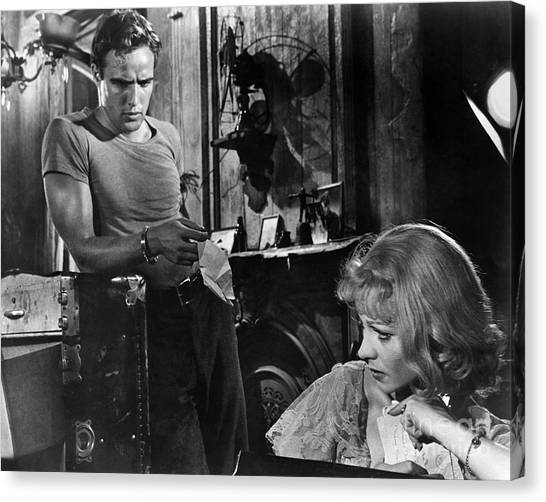 A Streetcar Named Desire Canvas Print by Granger
