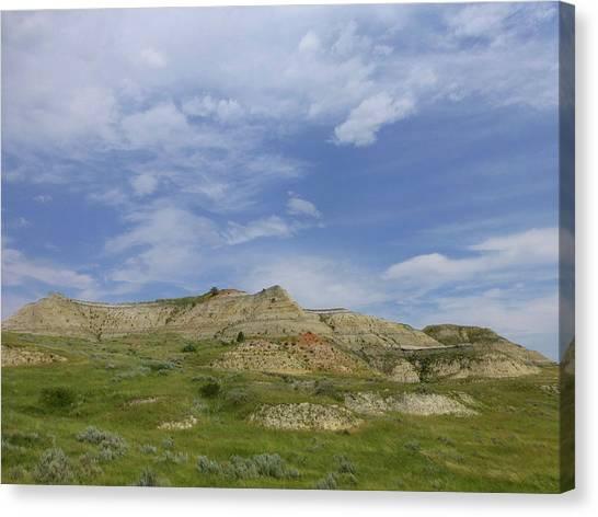 A Summer Day In Dakota Canvas Print