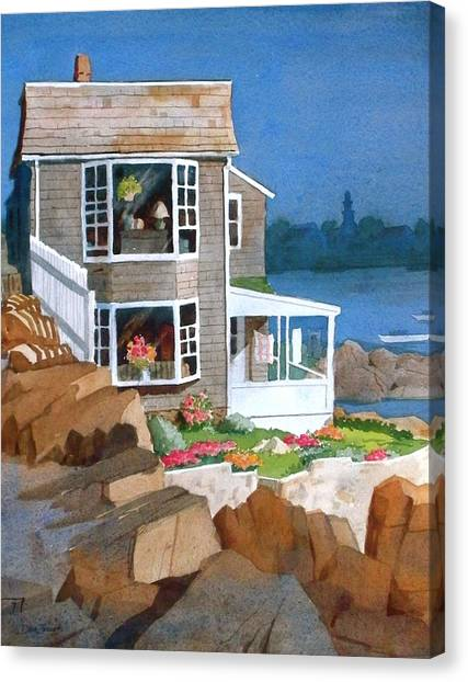 A Summer Place Canvas Print by Faye Ziegler