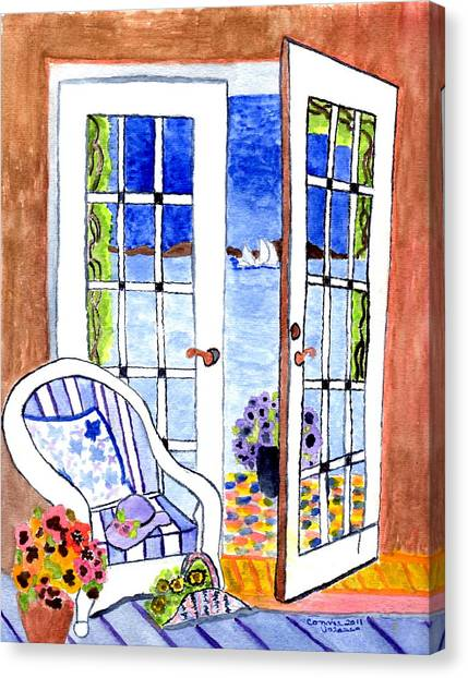 A Summers Afternoon Canvas Print