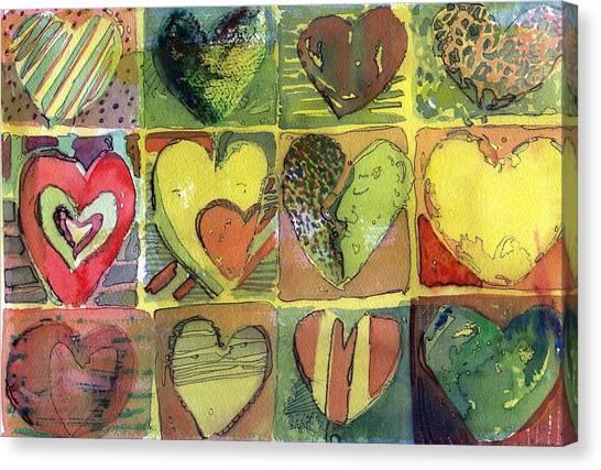 A Sunny Valentine Canvas Print