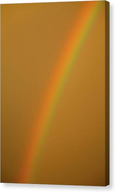 A Sunset Rainbow Canvas Print
