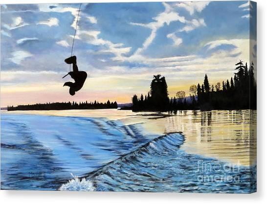 A Sunset Show Canvas Print