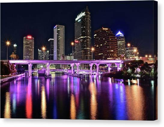A Tampa Night Canvas Print