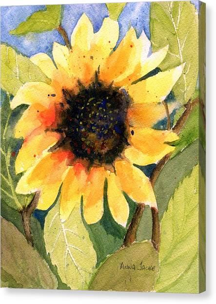 A Taste Of Sunshine Canvas Print