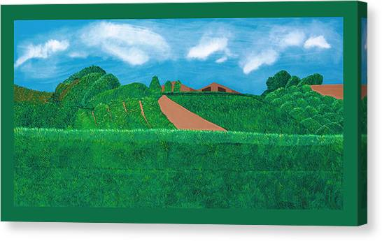 Canvas Print - A Taste Of Tuscany by Synthia SAINT JAMES