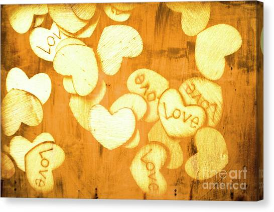 Desks Canvas Print - A Texture Of Vintage Love by Jorgo Photography - Wall Art Gallery