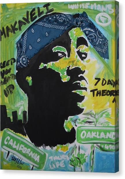 A Thugs Mind Canvas Print