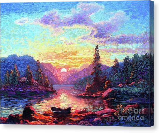 Vancouver Island Canvas Print - A Time For Peace by Jane Small