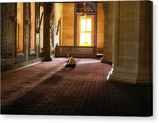 A Time For Prayer Canvas Print by Don Prioleau