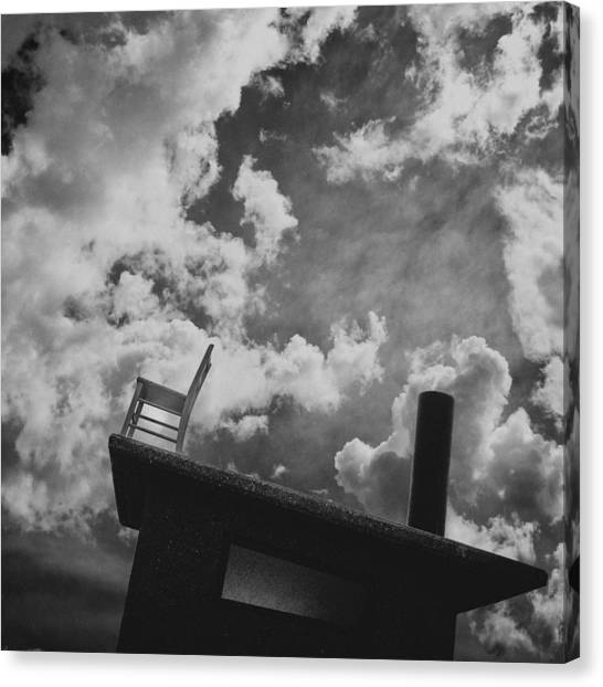 Canvas Print featuring the photograph Titanic / The Chair Project by Dutch Bieber