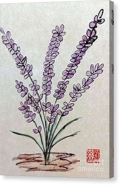 A Touch Of Lavender Canvas Print