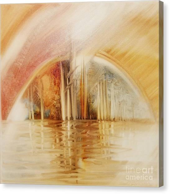 A Travel Do Heaven Canvas Print by Fatima Stamato