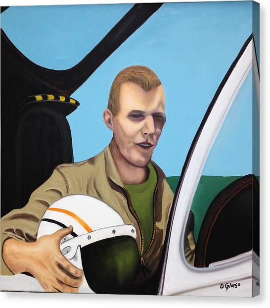 A Tribute To Maj. Lono Canvas Print