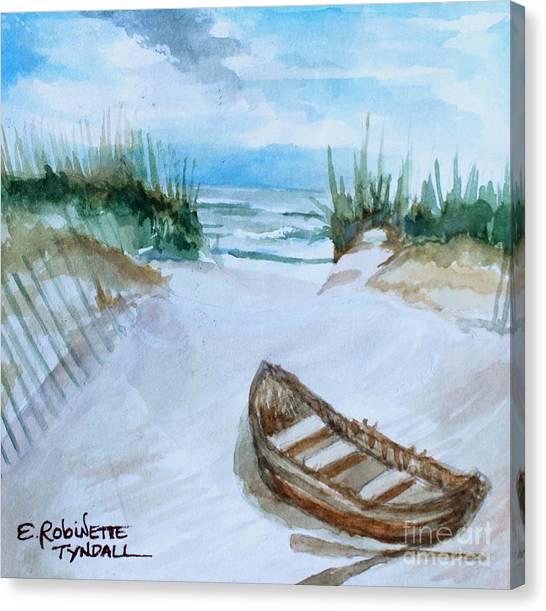 A Trip To The Beach Canvas Print