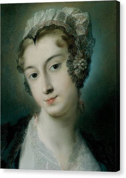 Rococo Art Canvas Print - A Tyrolean Innkeeper by Rosalba Carriera