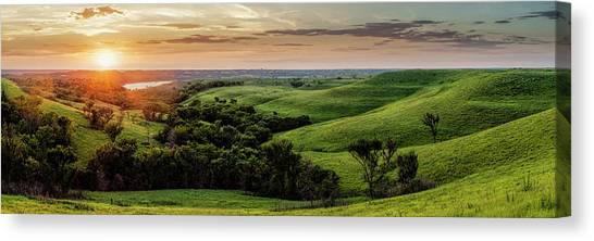 A View From A Favorite Spot Canvas Print