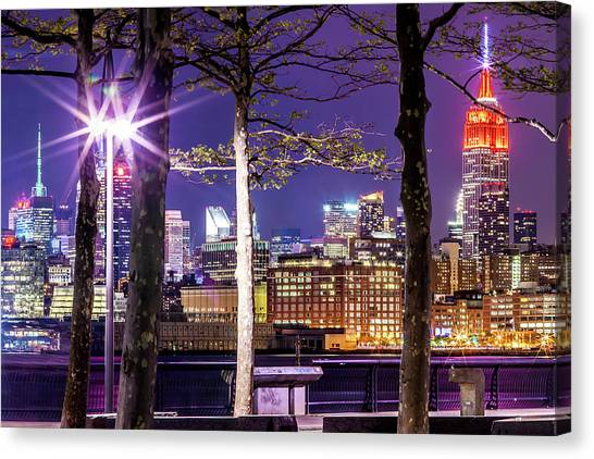 Empire State Building Canvas Print - A View To Behold by Az Jackson