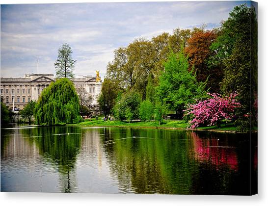 A View To The Palace Canvas Print by Pat Shawyer