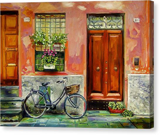 A Visit Canvas Print by David Lloyd Glover