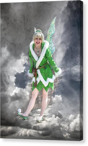 A Visit From The Tinker Fairy Canvas Print by John Haldane