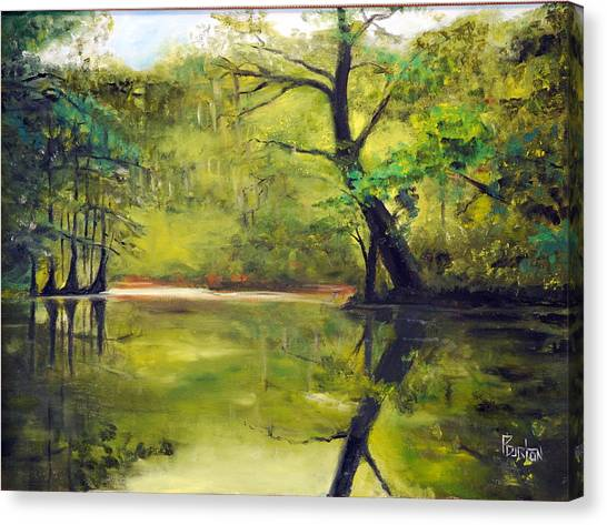 A Waccamaw Evening Canvas Print