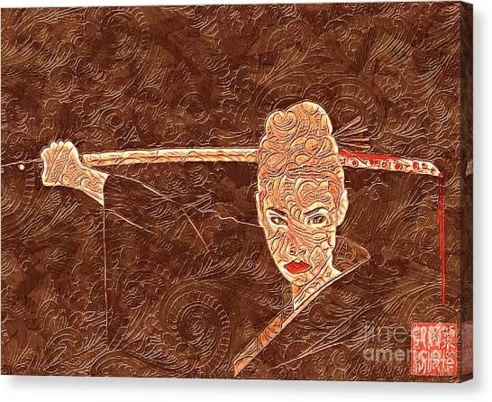 A Woman Scorned Canvas Print