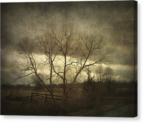 A Wyeth Landscape Canvas Print
