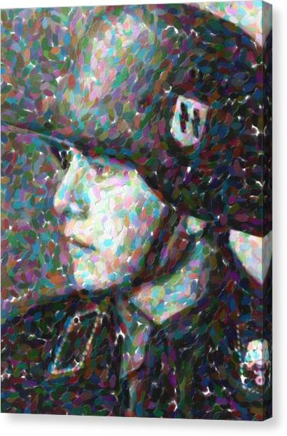 Salvation Army Canvas Print - A Young Soldier 2 by Celestial Images