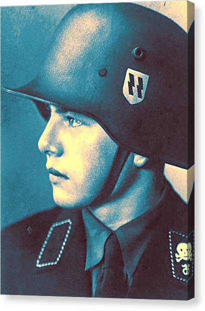 Salvation Army Canvas Print - A Young Soldier 4 by Celestial Images