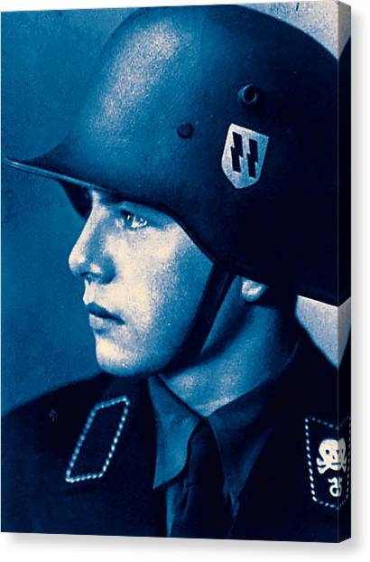 Salvation Army Canvas Print - A Young Soldier 5 by Celestial Images